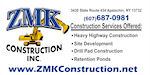 ZMK Construction, Inc. Logo