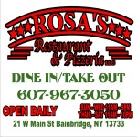 Rosa's Restaurant and Pizzeria Logo
